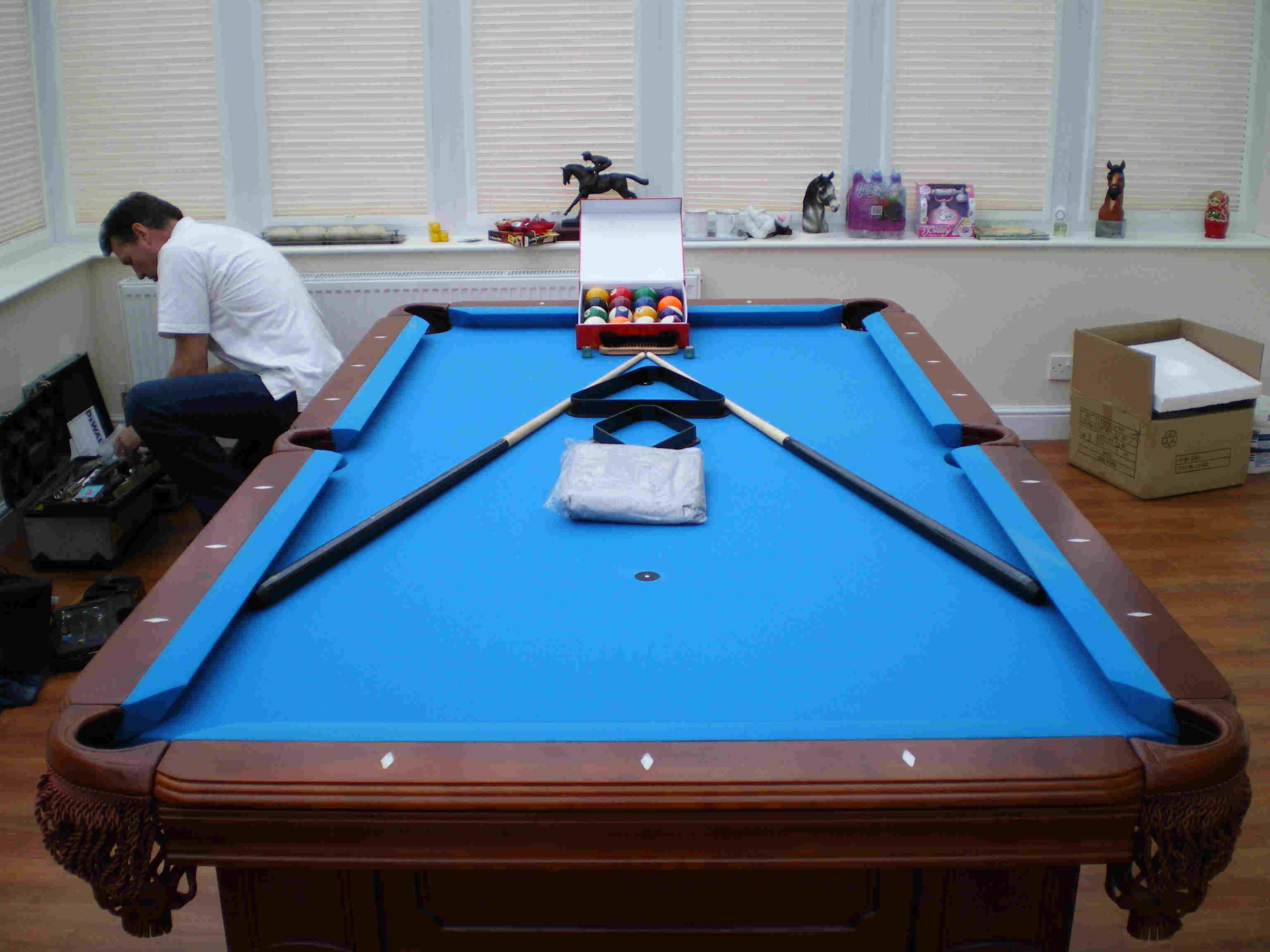 thomas manning recovering pool table