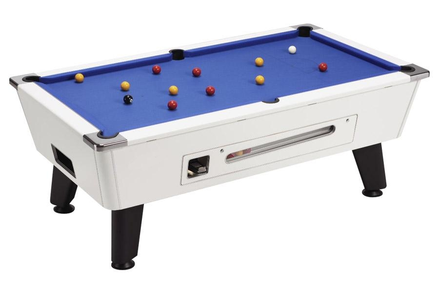 coin op pool tables